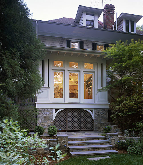 Exterior, Cleveland Park Breakfast Room, Architecture by The Kurylas Studio
