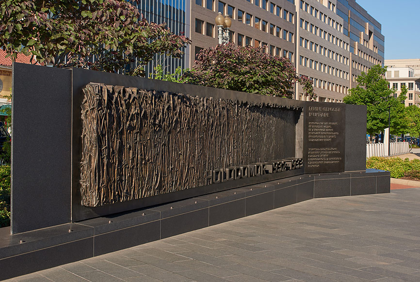 Holodomor Memorial Washington DC, design by The Kurylas Studio