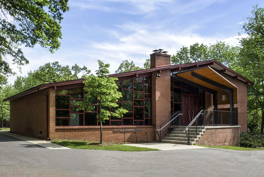 Hyattsville Mennonite Church, architectural redesign by The Kurylas Studio
