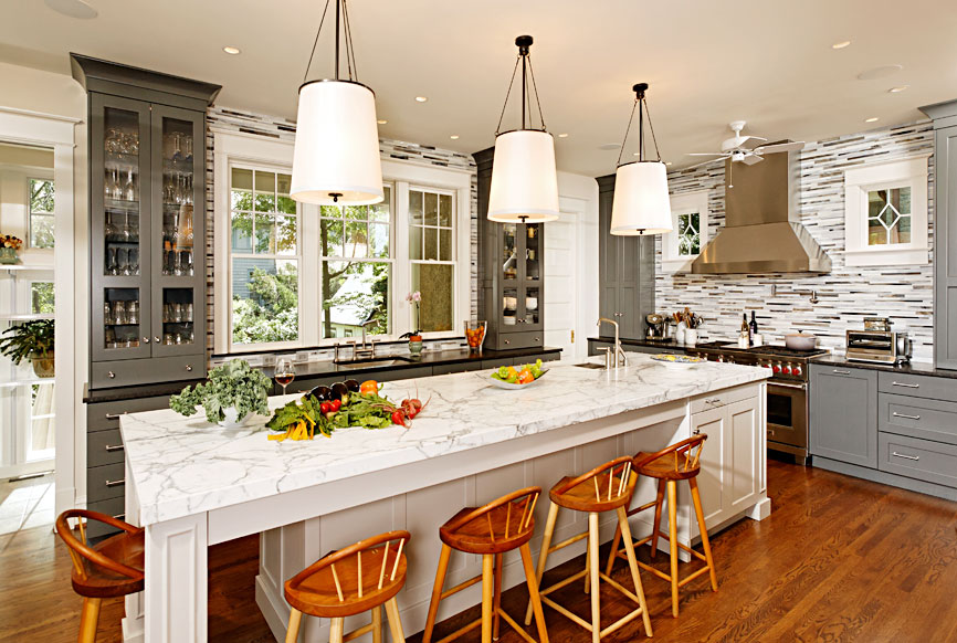 Cleveland Park Kitchen Renovation by The Kurylas Studio